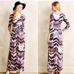 Anthropologie Maeve Novella Maxi Dress